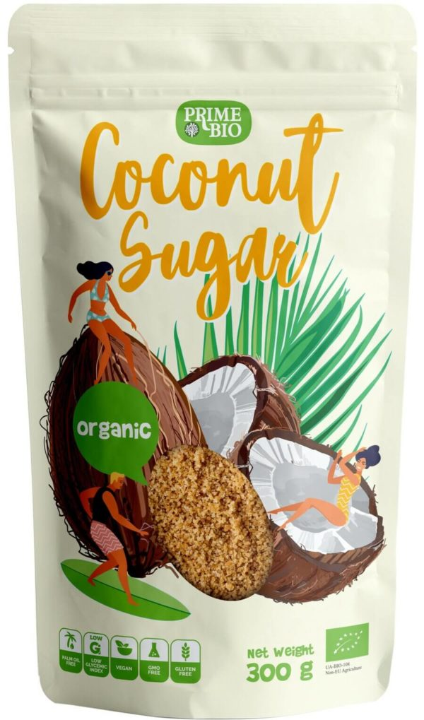 PRIMEBIO Cukier Kokosowy ekologiczny